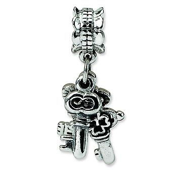 Sterling Silver Reflections SimStars Keys Dangle Bead Charm