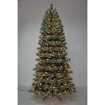 Item International Christmas Tree Pvc Metal Leds 450 635 Branches