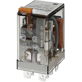 Plug-in relay 48 Vdc 12 A 2 change-overs Finder 56