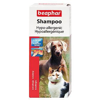 Beaphar Dog & Cat Hypoallergenic Shampoo 200ml (Pack of 3)