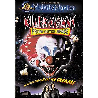 Killer Klowns From Outer Space [DVD] USA import