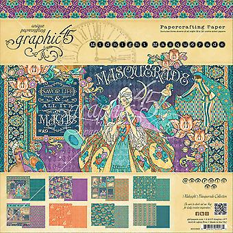 Graphic 45 Double-Sided Paper Pad 12