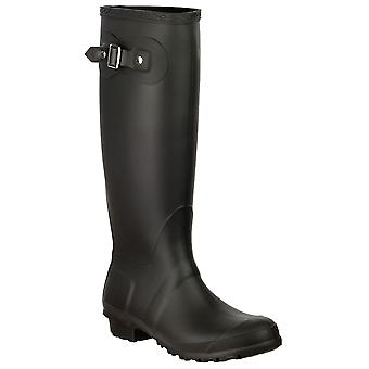 Cotswold Ladies Sandringham Buckle Up Wellingtons Boots PVC Pull On Footwear