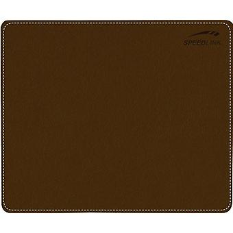 SPEEDLINK notar Soft Touch læder stil musemåtte - brun