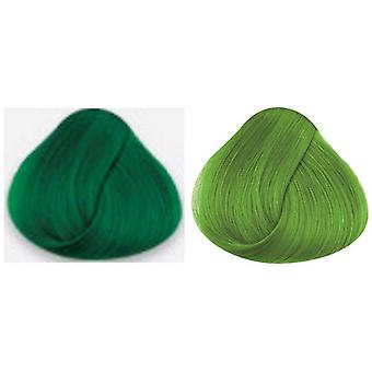 X2 La Riche Directions Semi-Permanent Conditioning Hair Colour 88ml - Spring Green & Apple Green