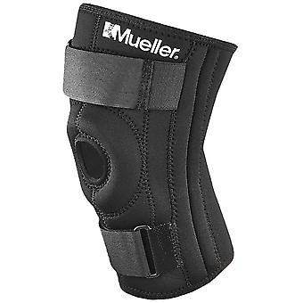 Mueller Patella stabilisator Chondromalacia Relief knæ bandage - sort