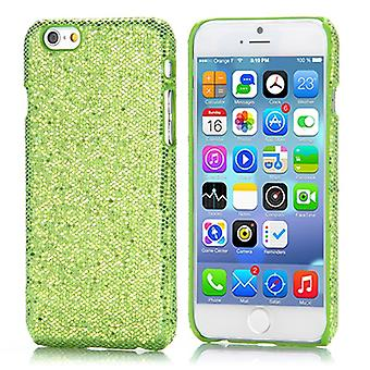 Green for Apple iPhone 6 4.7 glitter Hardcase