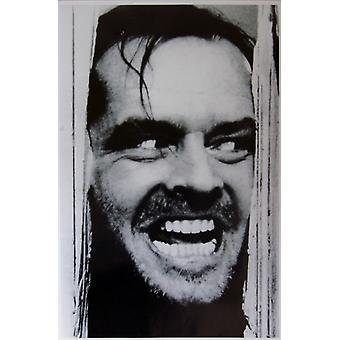 The Shining Heres Johnny Poster Poster Print