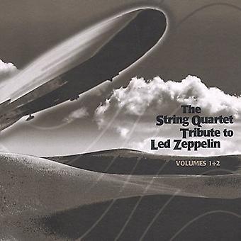 Tribute to Led Zeppelin - The String Quartet Tribute to Led Zeppelin, Vols. 1 & 2 [CD] USA import