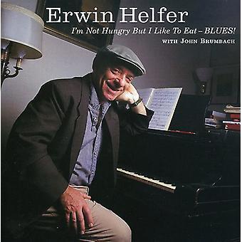 Erwin Helfer - Im ikke sulten men jeg gerne spise Blues! [CD] USA import