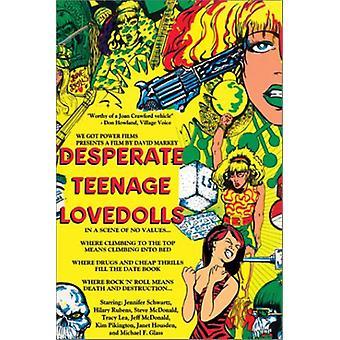 Desperate Teenage Lolitadukker [DVD] USA importerer