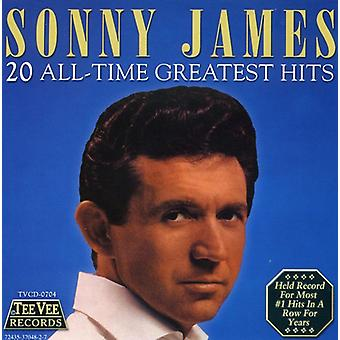 Sonny James - 20 Greatest Hits CD] USA importerer