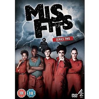 Misfits - Misfits: Season 2 [DVD] USA import
