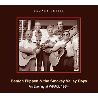 Benton Flippen & Smokey Valley drenge - aften på Wpaq 1984 [CD] USA importerer