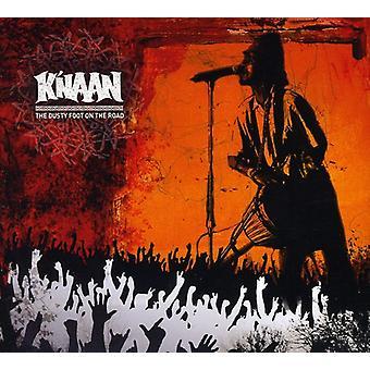 K'Naan - støvede Foot på vej [CD] USA importerer