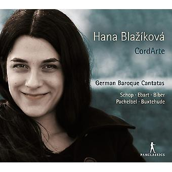 Schop / Blazikova / Cordarte - tysk barok kantater [CD] USA import