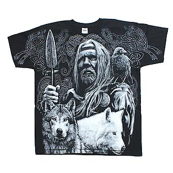 ODIN VIKING WARRIOR T-Shirt Wrap - Black
