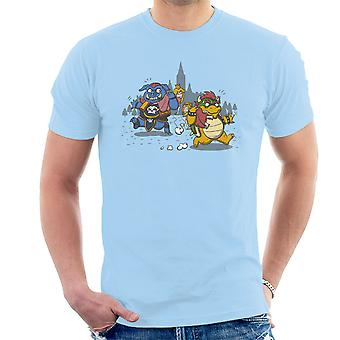 Princess Confusion Zelda Mario Men's T-Shirt