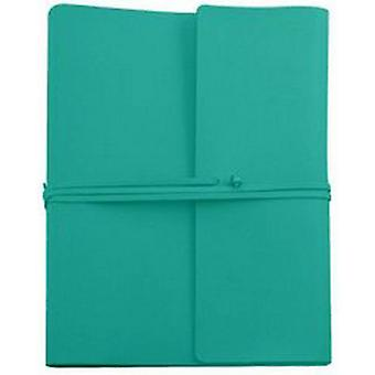 Coles Pen Company Saffiano Extra Large Leather Photo Album - Turquoise