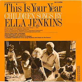 This Is Your Year: Children Songs by Ella Jenkins - This Is Your Year: Children Songs by Ella Jenkins [CD] USA import