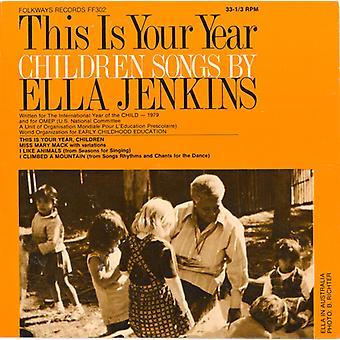 Dette er din år: Børn sange af Ella Jenkins - dette er din år: børn sange af Ella Jenkins [CD] USA import