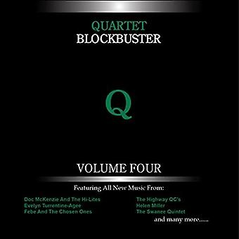 Forskellige kunstner - kvartetten Blockbuster 4 [CD] USA importerer