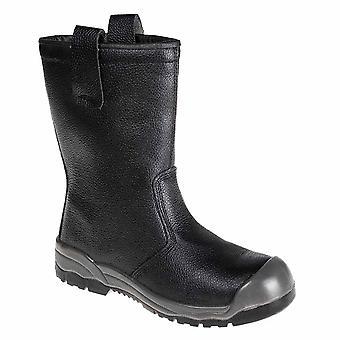 Portwest - Steelite Rigger Workwear Ankle Boot S1P CI (With scuff cap)