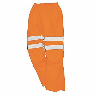 Portwest - Hi-Vis Safety Workwear Breathable Rail Track Side Overalls/ Coveralls