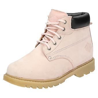 Ladies Truka Nubuck Leather Ankle Boots Mal 55