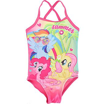 My Little Pony Summer Girl's One Piece Swimming Costume
