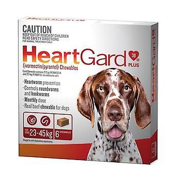 Heartgard Plus masticar marrón 6 Pack