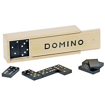 Goki Domino game in wooden box (Toys , Boardgames , Traditionals)