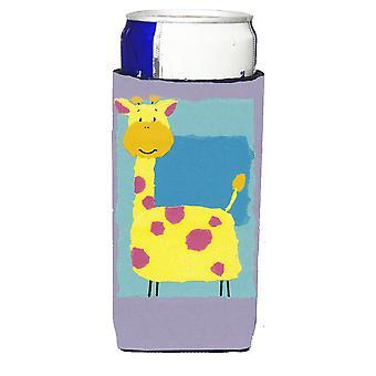 Giraffe Michelob Ultra Getränk Isolator für schlanke Dosen