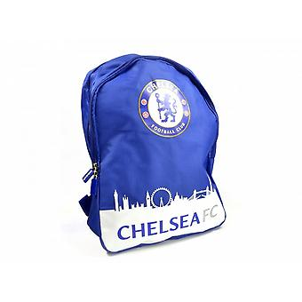 Chelsea FC Official Football Skyline Backpack/Rucksack