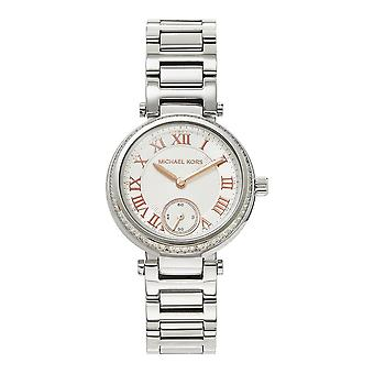 Michael Kors Watches Mk5970 Skylar Silver Stainless Steel Ladies Watch