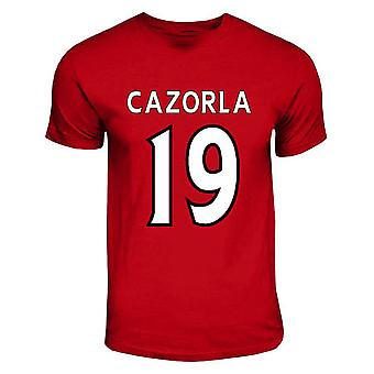 Santi Cazorla Arsenal Hero T-shirt (red)