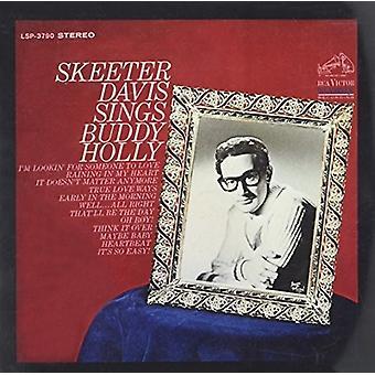 Skeeter Davis - synger Buddy Holly [CD] USA importerer