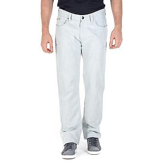 Armani Collezioni Mens Jeans White