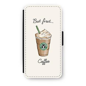 Huawei Ascend P10 Flip Case - But first coffee