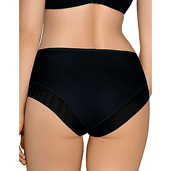 Nipplex EDY-CZA-FIG Women's Edyta Black Knickers Panty Full Brief