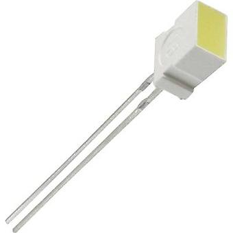 LED wired Yellow Rectangular 6.22 x 3.17 mm 6 mcd