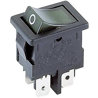 Toggle switch 250 V AC 4 A 2 x Off/On Marquardt 18