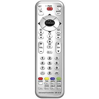 Vivanco UR 12 N Infrared (1076749) Remote control Silver