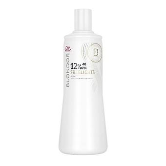 Wella Blondor FreeLights Oxidant 40 Volume 1000ml (12%)