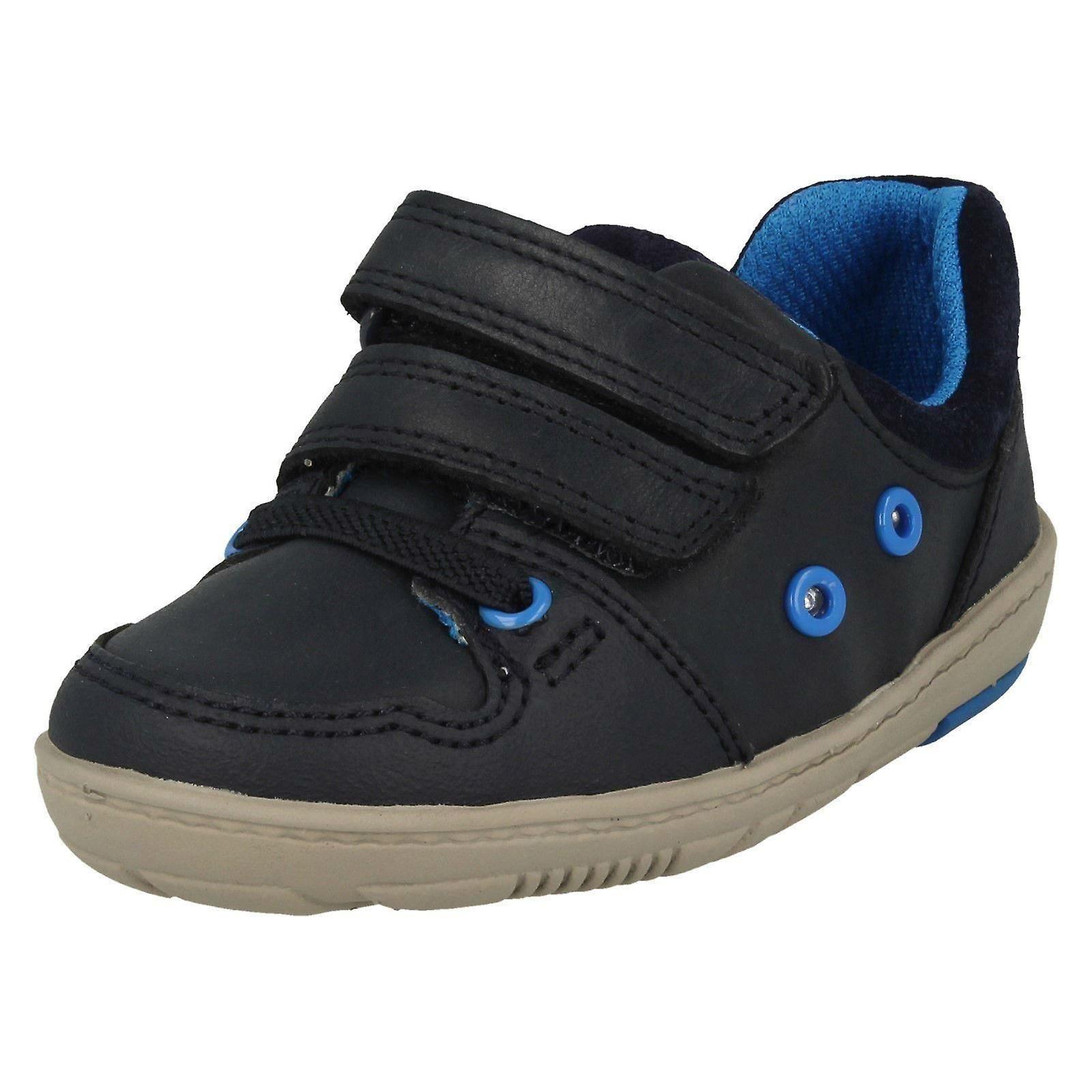 Garçons Clarks chaussures occasionnelles avec lumières Tolby Boo