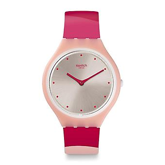 Swatch Svop101 Skinset Pink Silicone Watch