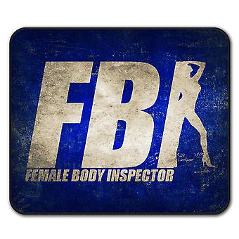 Offensiva del FBI scherzo divertente antiscivolo tappetino Pad 24 x 20 cm | Wellcoda