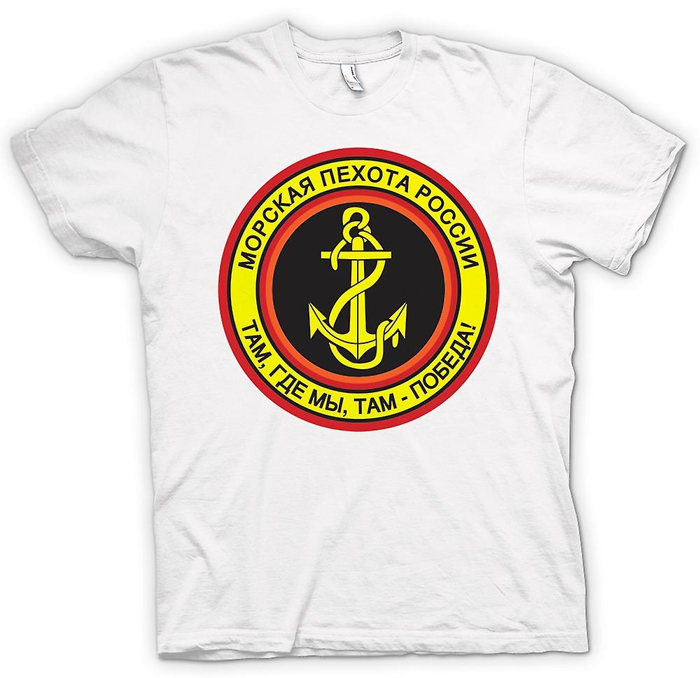 Mens T-shirt - Russian Naval Infantry