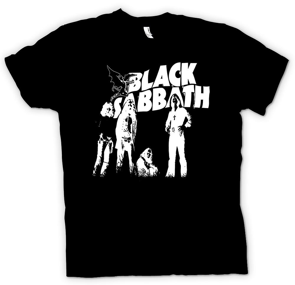 Womens T-shirt - Sabbath - Metal Devil