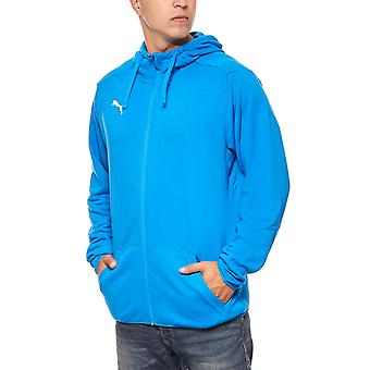 PUMA Hoodie Sweatjacke Training Liga Casual Blau